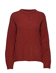 Mynthe Pullover - MERLOT RED