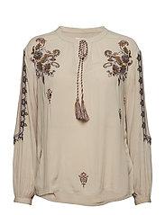 Fenja blouse - LIGHT BEIGE