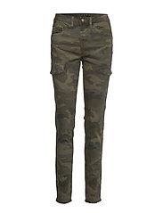 Anina carmu pants - shape fit - SEA GREEN