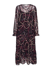 CindyCR Dress - PITCH BLACK