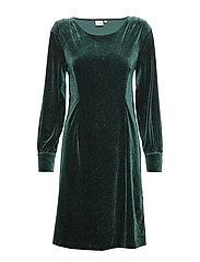 OliveCR Dress - DEEP GREEN