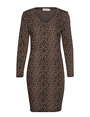 Maida dress - BROWN SUGAR