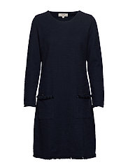 NaraCR Dress - CAPTAIN NAVY