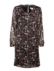 Nila Dress - PITCH BLACK
