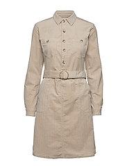 SiljaCR Dress - LIGHT BEIGE