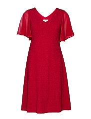 MinuCR Short Dress - CHILI PEPPER