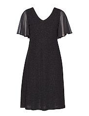 MinuCR Short Dress - PITCH BLACK