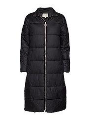 Gaiagro Long Jacket - PITCH BLACK