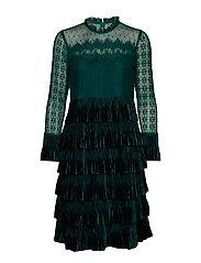 LizzyCR Dress - DEEP GREEN