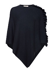 OdetteCR Poncho - ROYAL NAVY BLUE