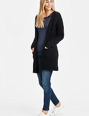 Cream - KaitlynCR New Cardigan - swetry rozpinane - pitch black - 3