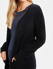 Cream - KaitlynCR New Cardigan - swetry rozpinane - pitch black - 6