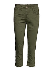 VavaCR 3/4 Pant coco fit - BURNT OLIVE