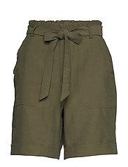 GunnaCR Shorts - BURNT OLIVE
