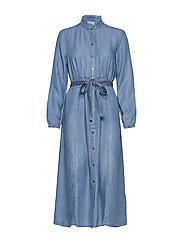 VincaCr dress - BLUE DENIM