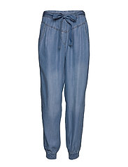 VincaCr cargopants - BLUE DENIM