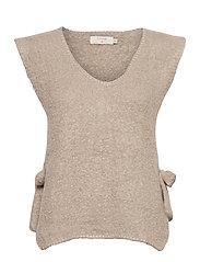 MaggieCR Sleeveless Pullover - FEATHER GRAY