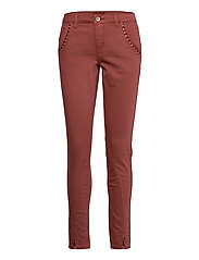 HollyCR Twill Pants - Baiily Fit - HENNA