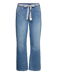 CRFie Flared Jeans - Coco Fit 7/8 - BLUE DENIM