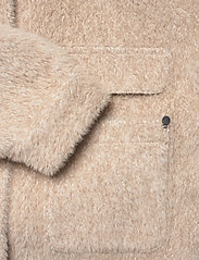 Cream - CRCarla Short Jacket - faux fur - sesame melange - 7