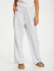 Cream - CRVenta Pant - bukser med brede ben - blue stripe - 0