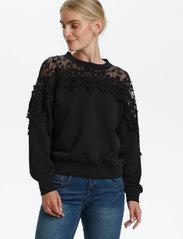 Cream - CRKalanie Sweatshirt - trøjer - pitch black - 0