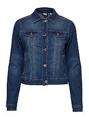 Lisa Denim Jacket - RICH BLUE DENIM