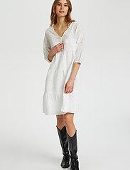 Cream - RistaCR Dress - sommerkjoler - snow white - 4