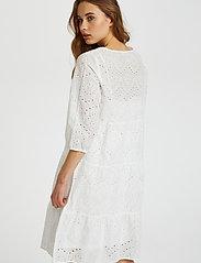 Cream - RistaCR Dress - sommerkjoler - snow white - 5