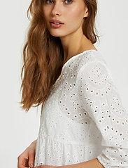 Cream - RistaCR Dress - sommerkjoler - snow white - 6