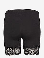 Cream - Matilda Biker Shorts - bottoms - pitch black - 2