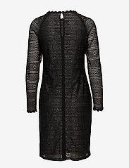 Cream - Allelu Dress - kanten jurken - pitch black - 1