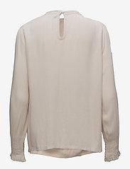 Cream - Alexia Blouse - long sleeved blouses - gray morn - 1
