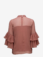 Cream - Vera Blouse - long sleeved blouses - withered rose - 1