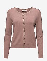 Cream - Tammy Cardigan - swetry rozpinane - old rose - 0