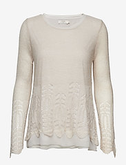 Cream - Deana Pullover - jumpers - silver gray - 0
