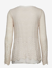 Cream - Deana Pullover - jumpers - silver gray - 1
