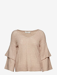 Cream - Penelope Knit pullover - jumpers - rose dust - 0