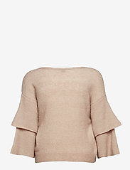 Cream - Penelope Knit pullover - jumpers - rose dust - 1
