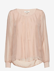 Cream - Jallaish blouse - long sleeved blouses - rose dust - 0