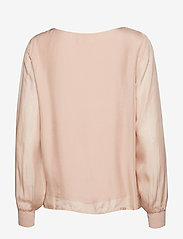 Cream - Jallaish blouse - long sleeved blouses - rose dust - 1