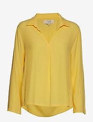 Cream - Agda Blouse - blouses à manches longues - cornsilk yellow - 0