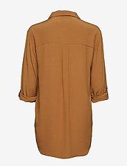 Cream - Milanie Shirt - blouses à manches longues - bronzed - 1