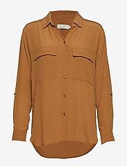 Cream - Milanie Shirt - blouses à manches longues - bronzed - 2