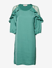 Cream - Carlie Dress - courtes robes - bottle green - 0