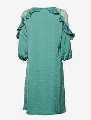 Cream - Carlie Dress - courtes robes - bottle green - 1