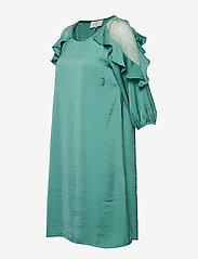Cream - Carlie Dress - courtes robes - bottle green - 2