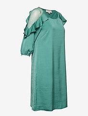 Cream - Carlie Dress - courtes robes - bottle green - 3