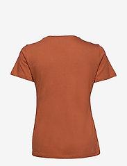 Cream - Naia T-shirt - t-shirts - baked clay - 2