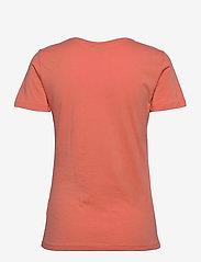 Cream - Naia T-shirt - t-shirts - peach echo - 1